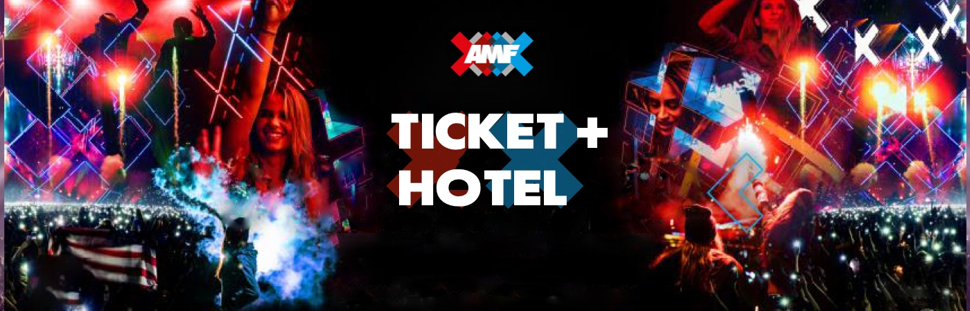 AMF Ticket + Hotel Package