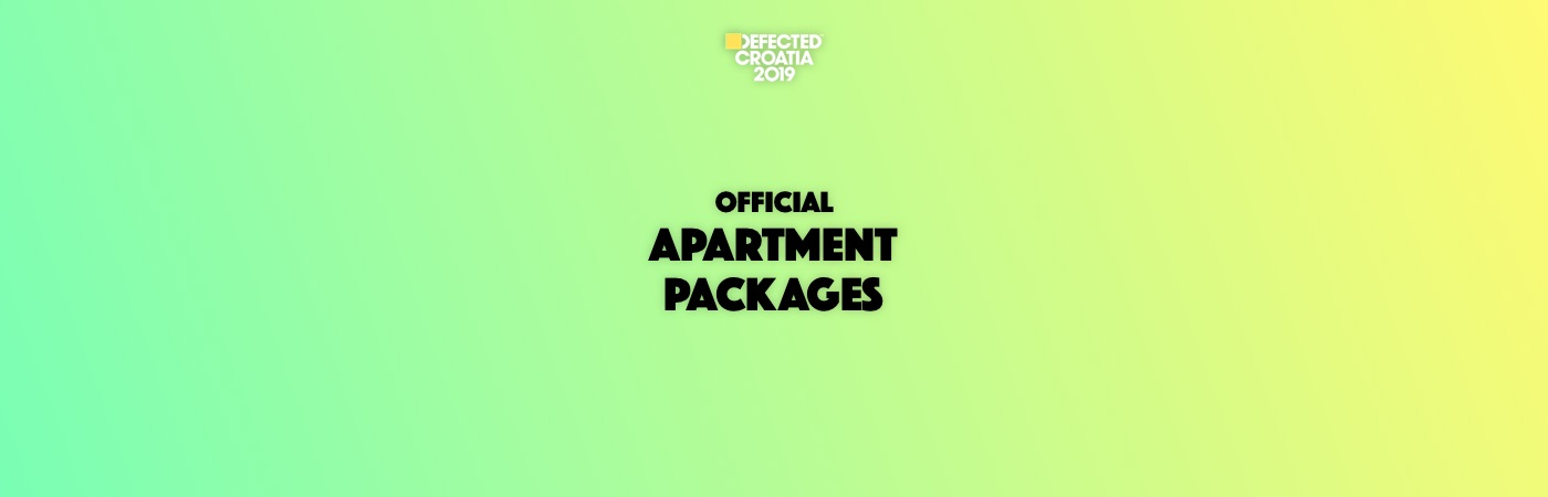 Defected Croatia Apartment Packages