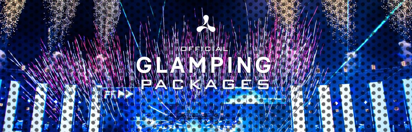 Creamfields Glamping Pakketten