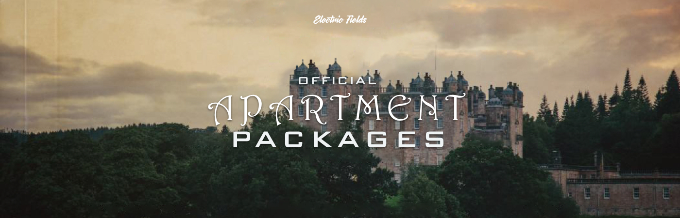 Electric Fields Festival Ticket + Apartment Packages