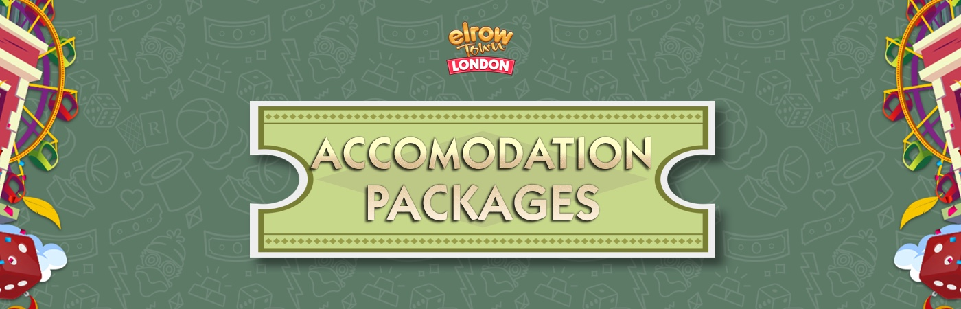 GA Ticket + Accommodation Packages