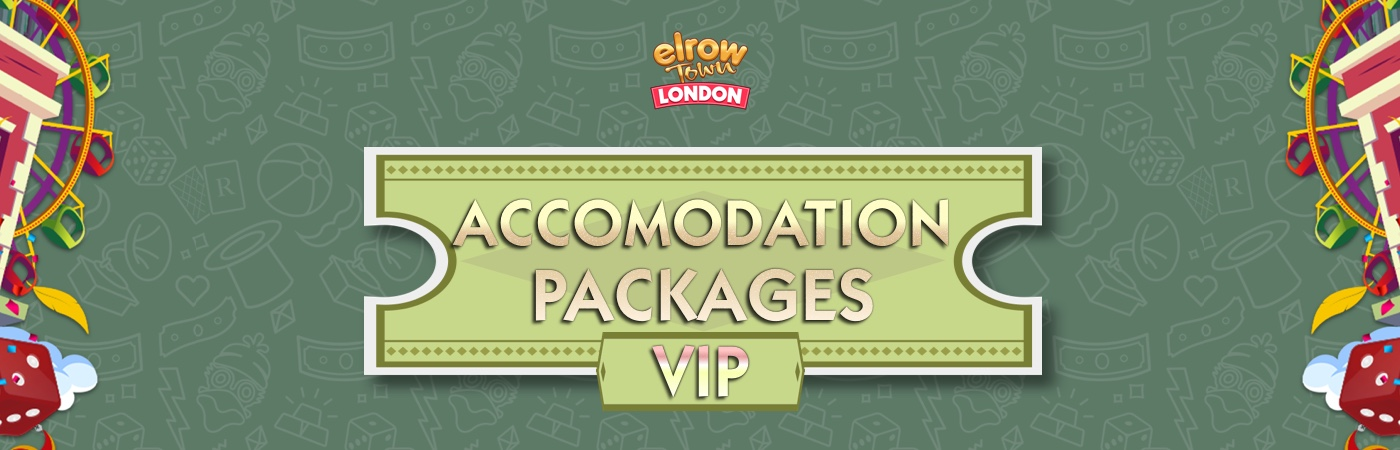 VIP Ticket + Accommodation Packages