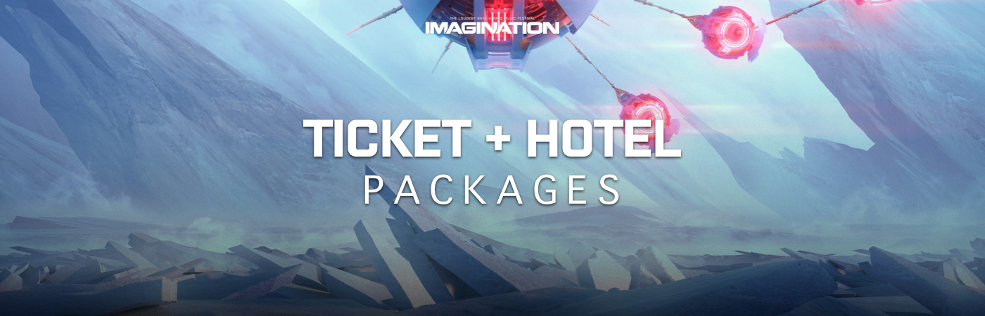 Imagination Festival Ticket + Hotel Packages