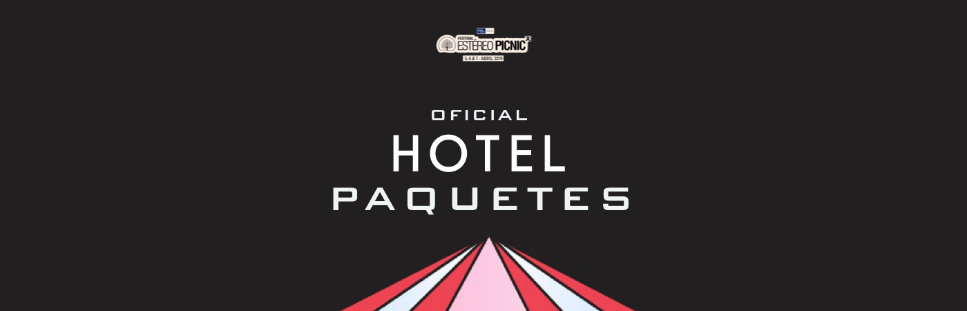 Packs Hotel Festival Estéreo Picnic