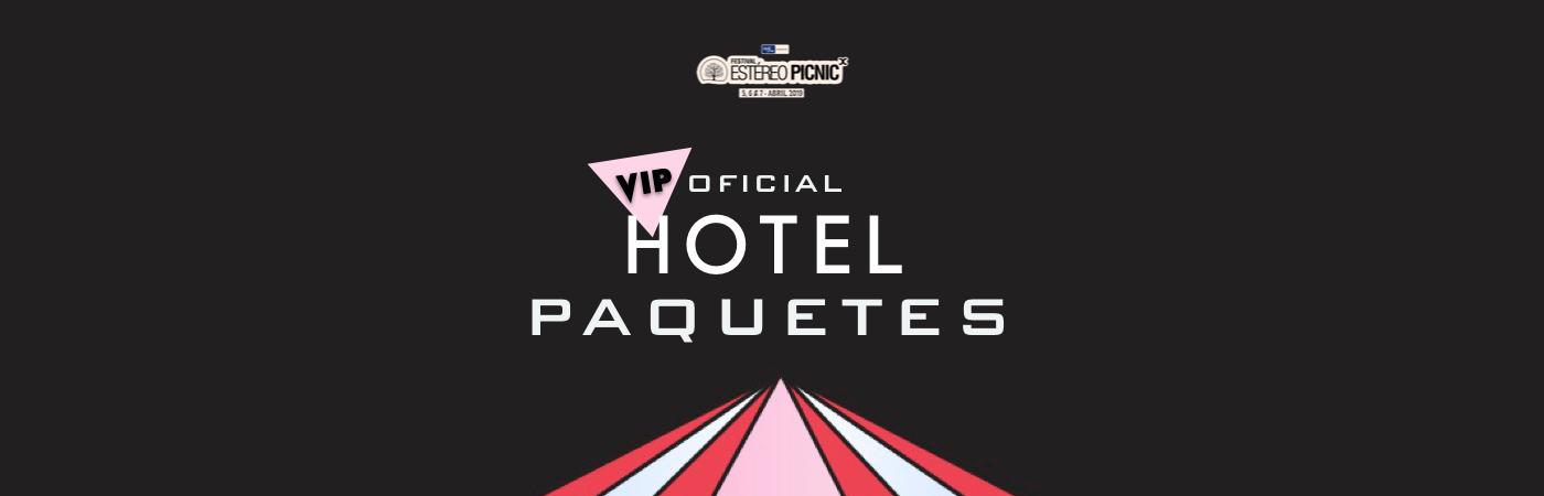 Packs Hotel VIP Festival Estéreo Picnic