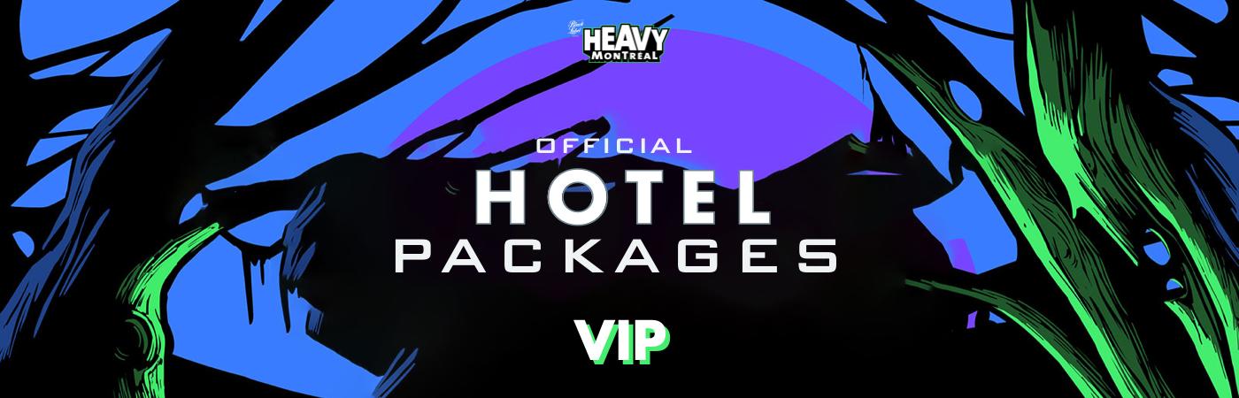 Heavy Montréal Festival: Pacotes com Bilhetes VIP + Hotel