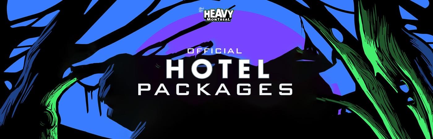 Heavy Montréal: Pacotes com Bilhete + Hotel