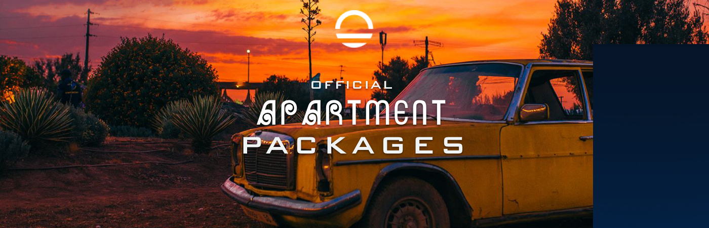 Packages Billet + Appartement - Oasis Festival