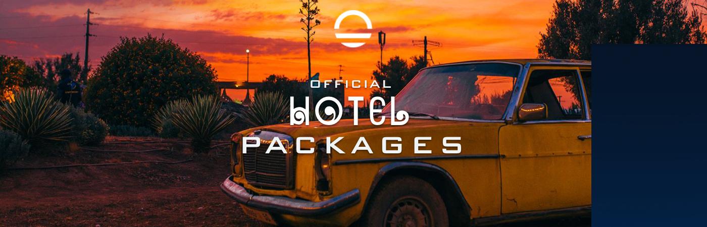 Packages Billet + Hôtel - Oasis Festival