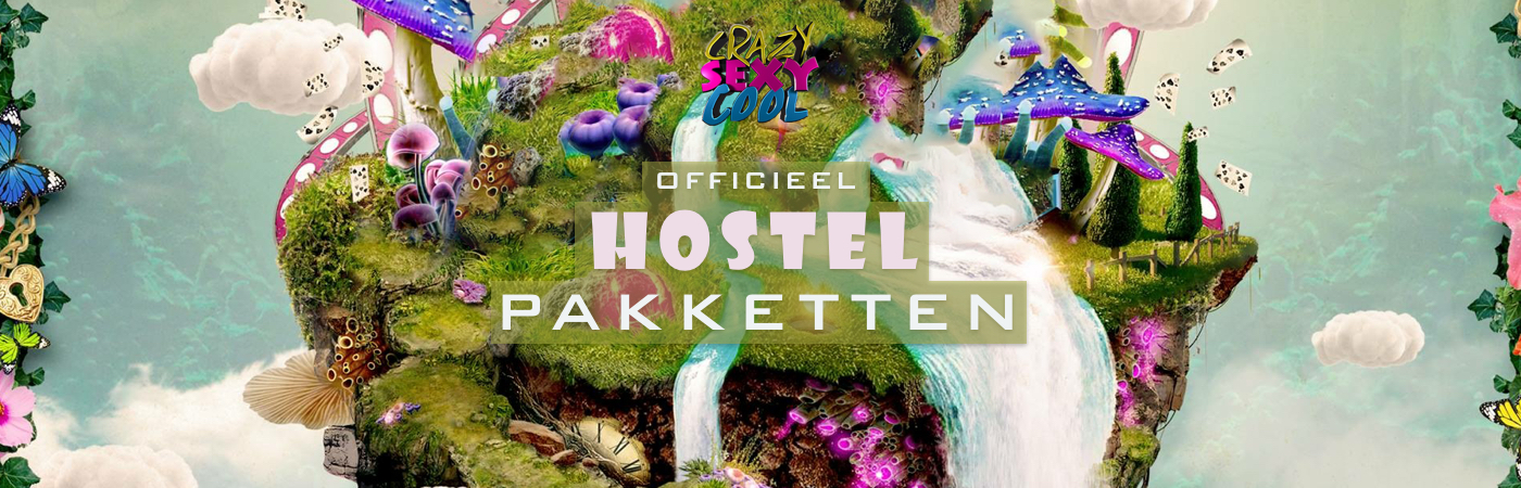 Crazy Sexy Cool Festival Ticket + Hostel