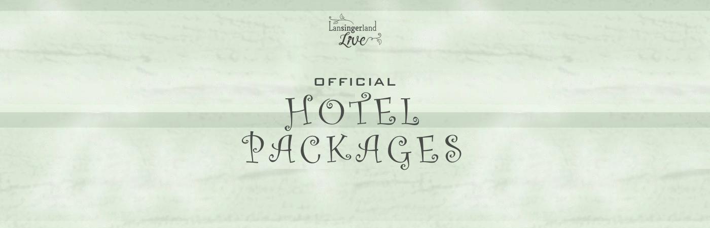 Lansingerland Live Ticket + Hotel Pakketten