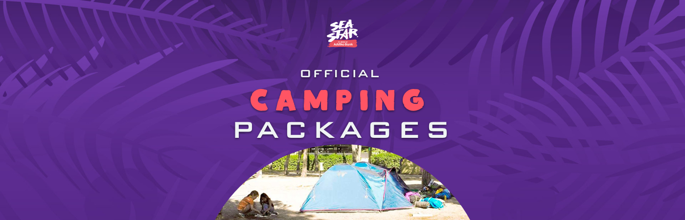 Sea Star Festival Ticket- + Camping-Pakete