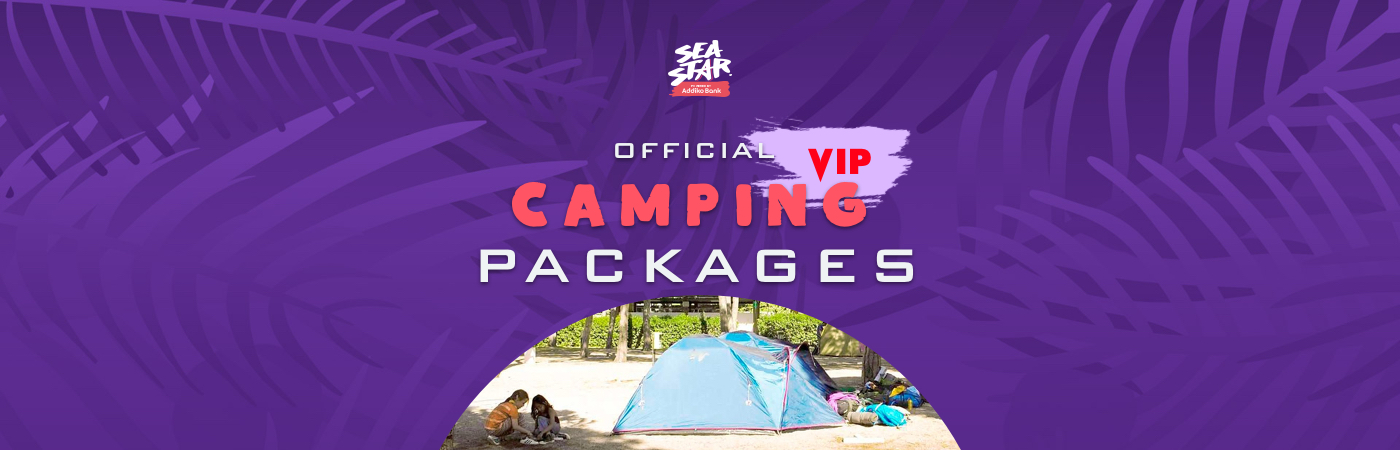 Sea Star Festival VIP-Ticket- + Camping-Pakete