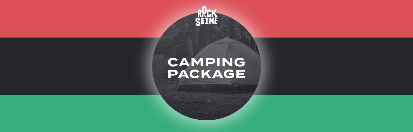 Rock en Seine Ticket + Camping Packages