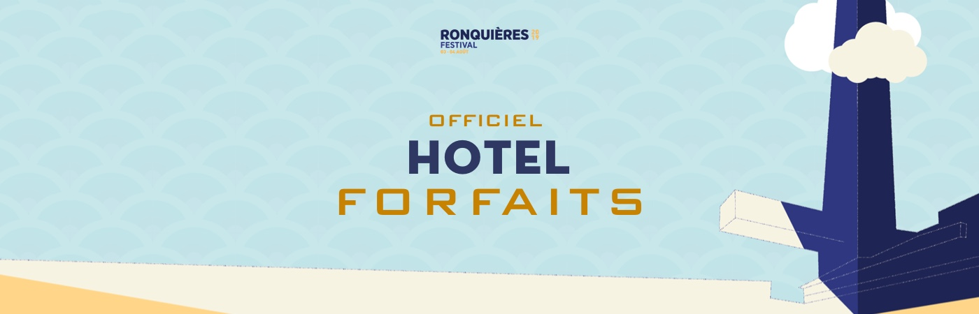 Ronquières Festival Ticket + Hotel Packages
