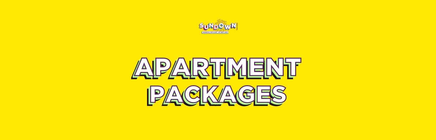 Sundown Festival Ticket + Apartment Packages