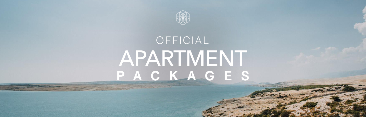 Sonus Ticket + Apartment Packages
