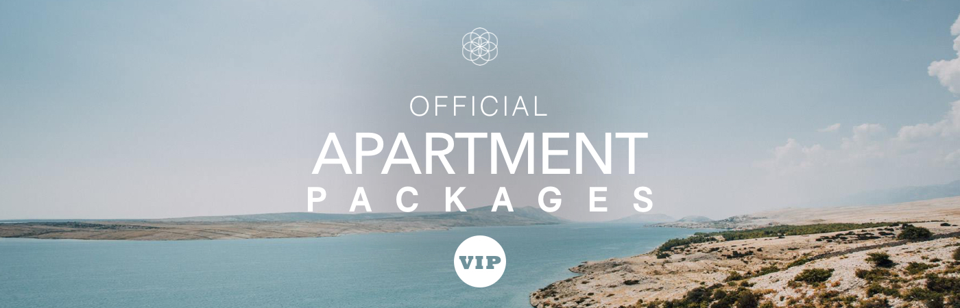 Sonus VIP Ticket + Apartment Packages
