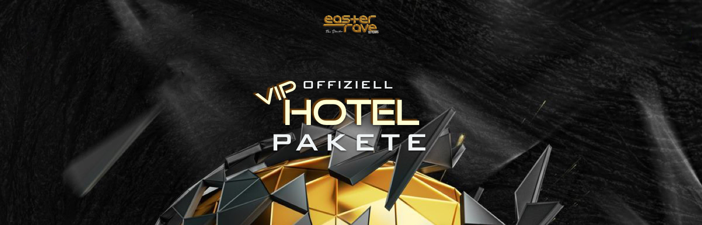 Easter Rave - The Strike: 10 Years VIP Hotel Packages