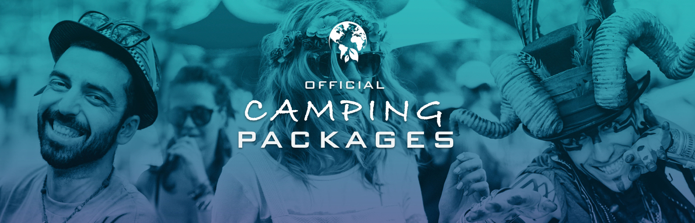 Earth Garden Ticket + Camping Packages