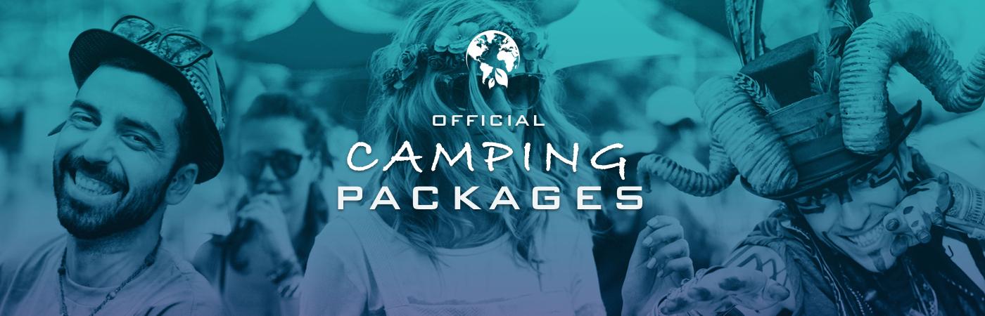 Packs Entrada + Camping Earth Garden