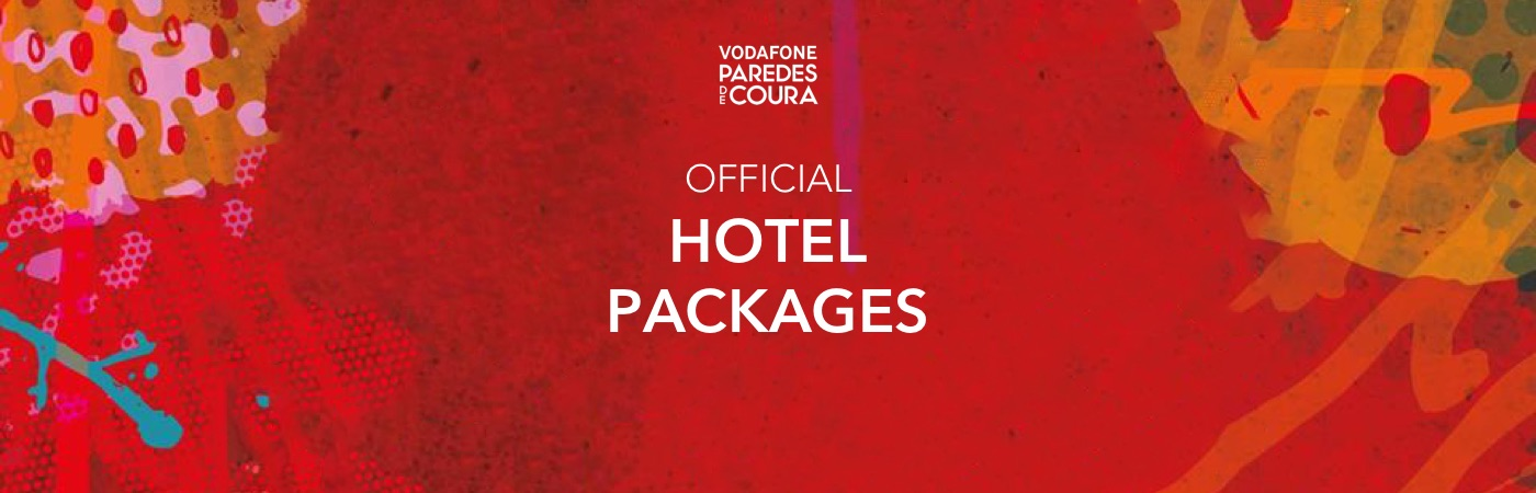 Vodafone Paredes de Coura Ticket + Hotel Package