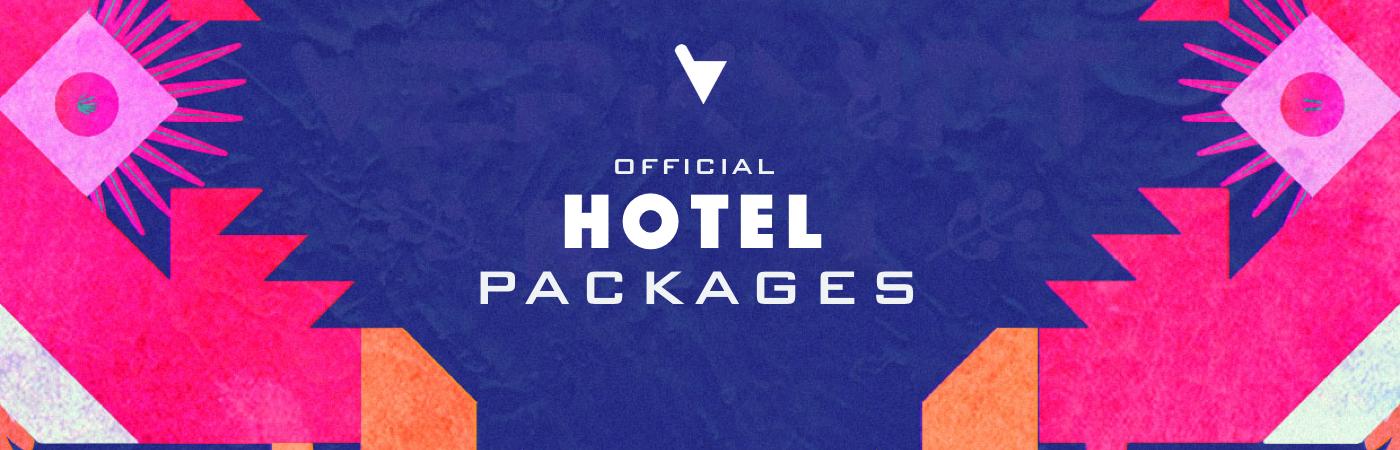 Verknipt Festival Ticket + Hotel Pakketten