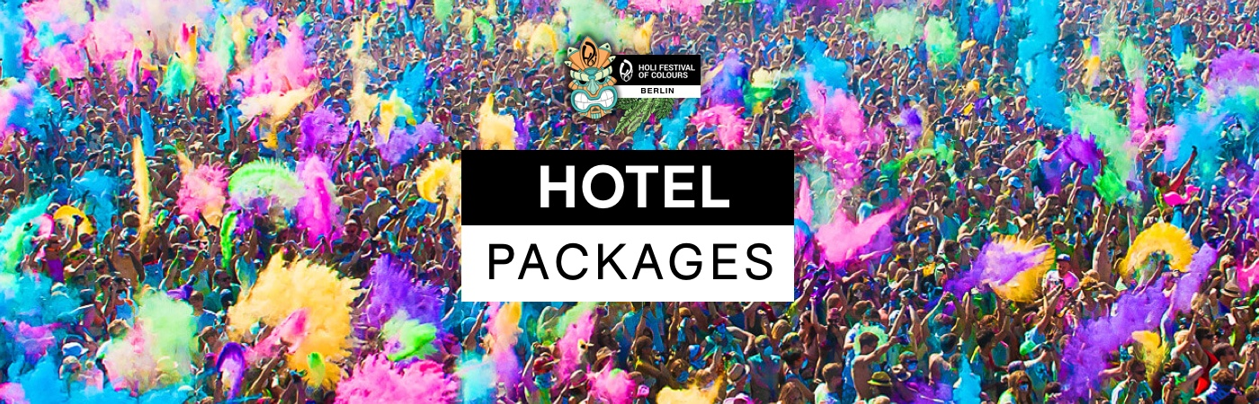 Holi Festival of Colours Berlin Ticket + Hotel Packages