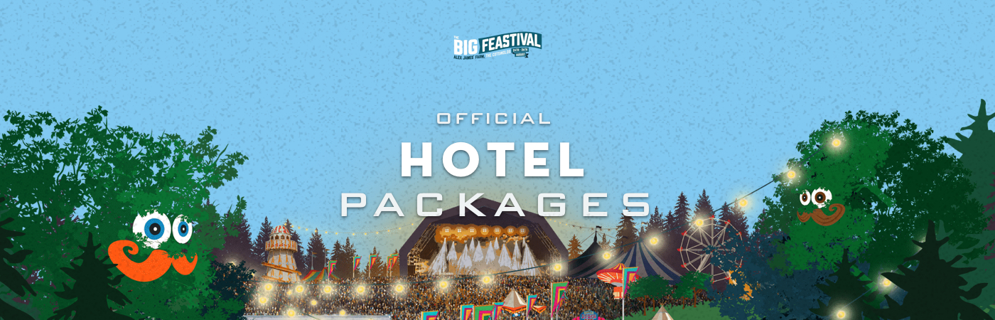 The Big Feastival Ticket + Hotel Packages