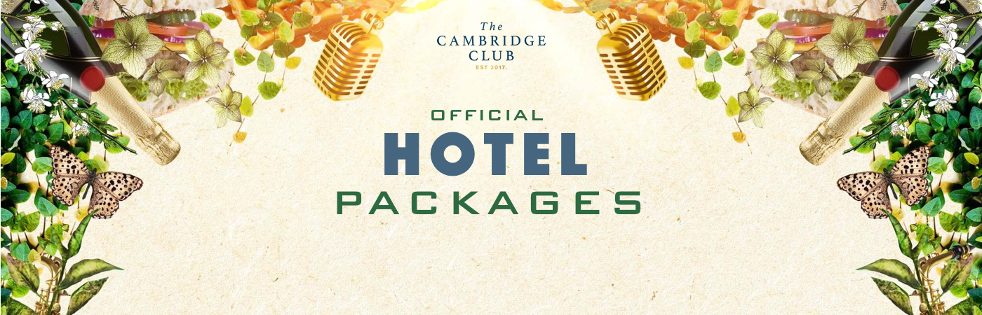 The Cambridge Club Ticket + Hotel Packages