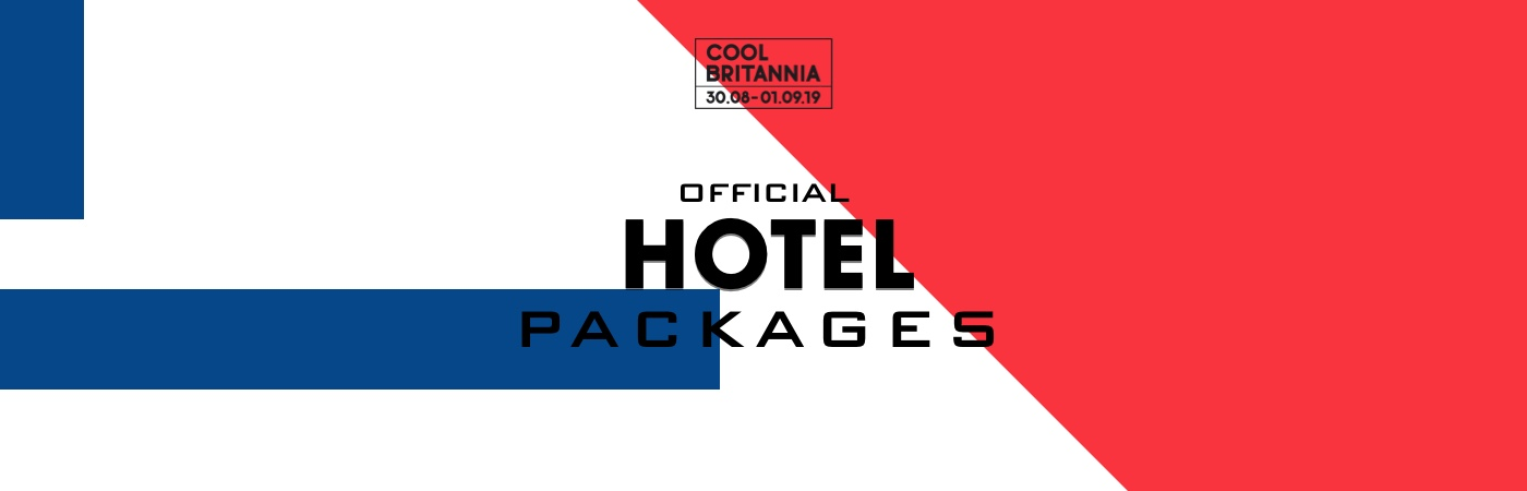 Cool Britannia Festival Ticket + Hotel Packages