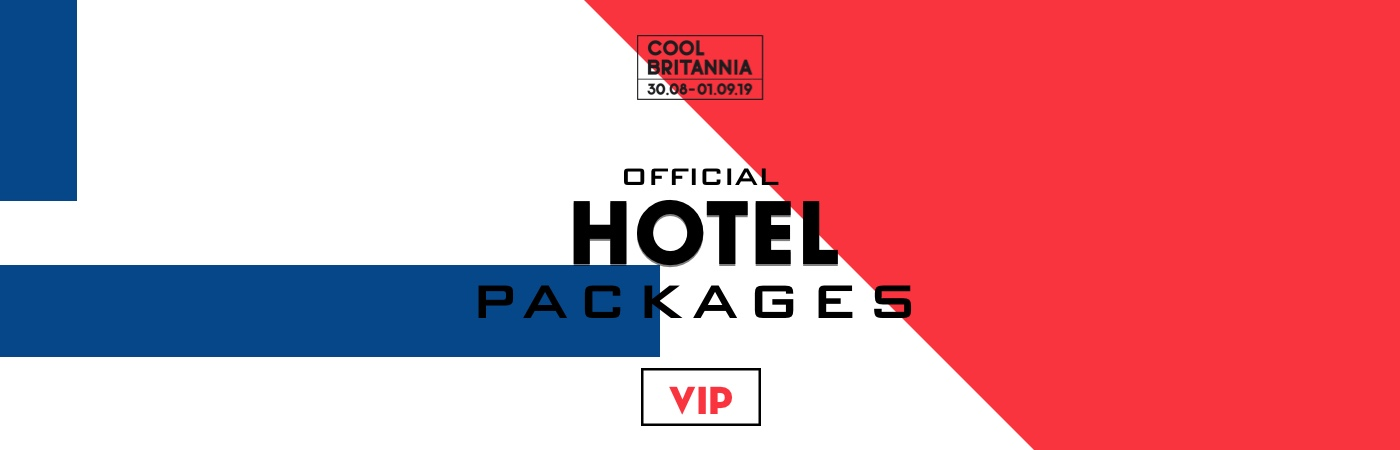 Cool Britannia Festival VIP Ticket + Hotel Packages