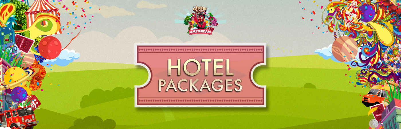 Elrow Town Festival - Amsterdam Ticket + Hotel Packages