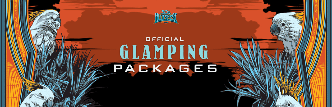 Packages Billet + Glamping - Bluesfest Byron Bay