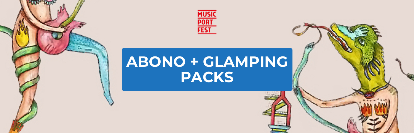 Music Port Fest Ticket + Glamping Packages