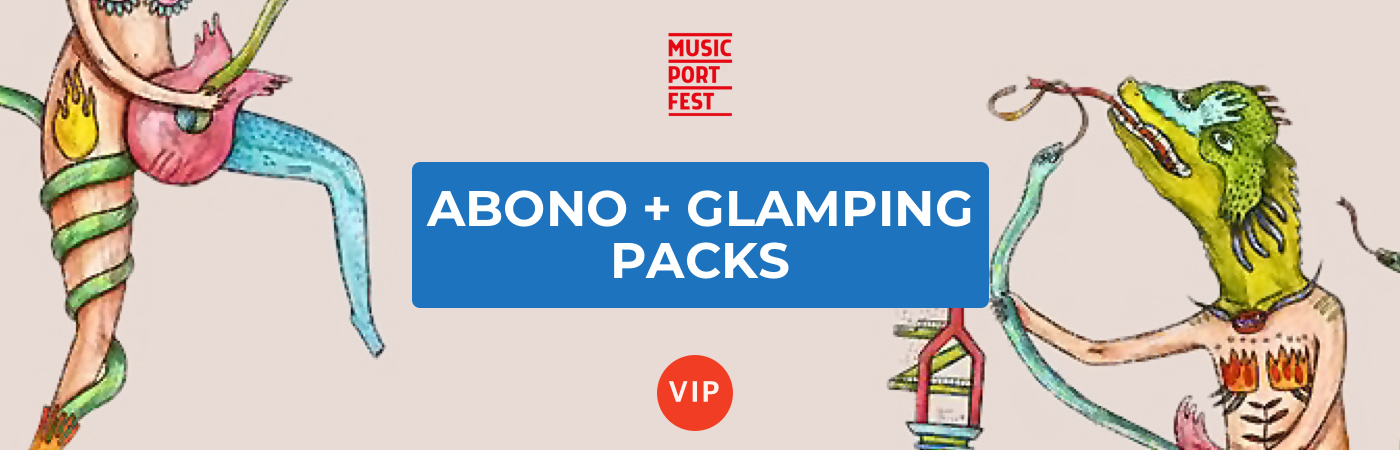 Music Port Fest VIP Ticket + Glamping Packages