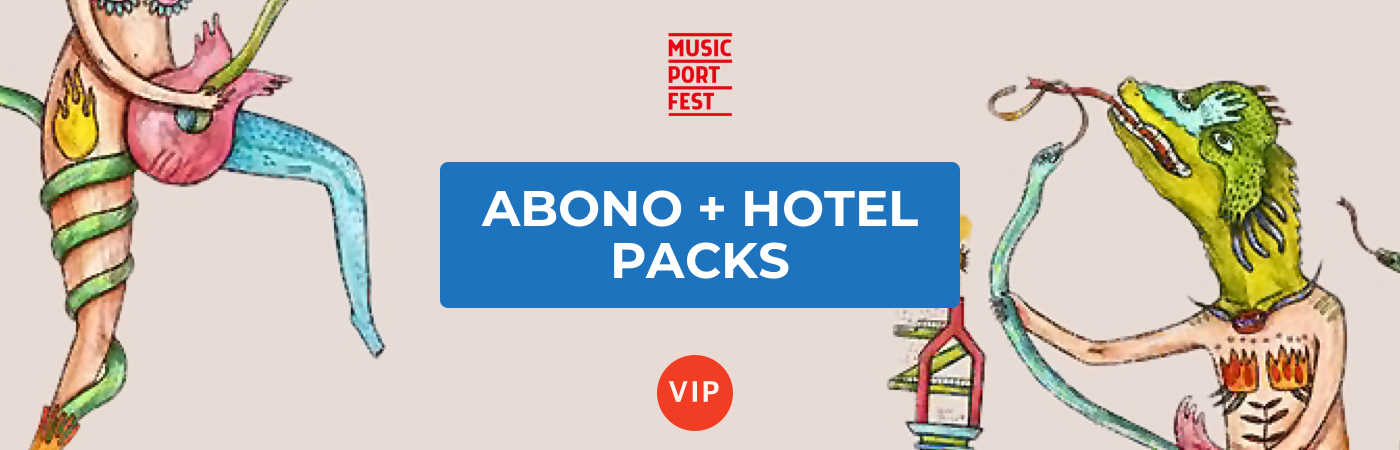 Music Port Fest VIP Ticket + Hotel Packages