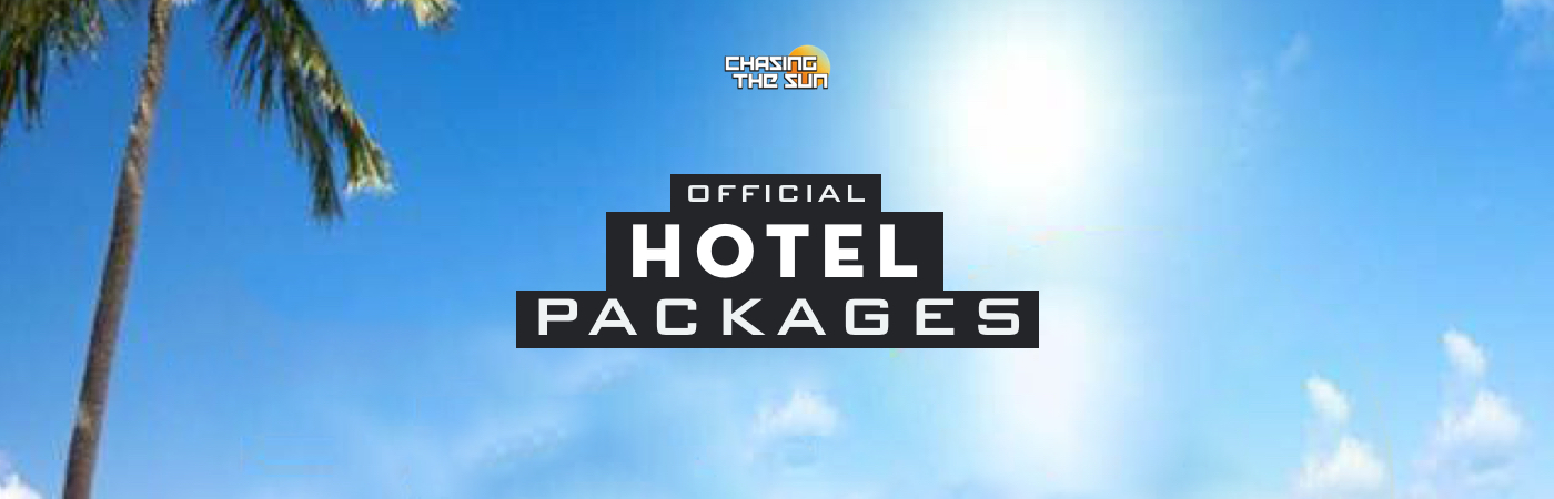 Chasing the Sun Festival Ticket + Hotel Packages