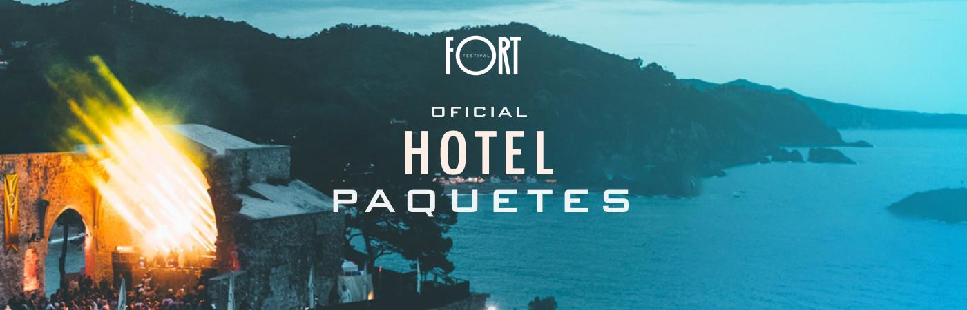 Packs Entrada + Hotel Fort Festival