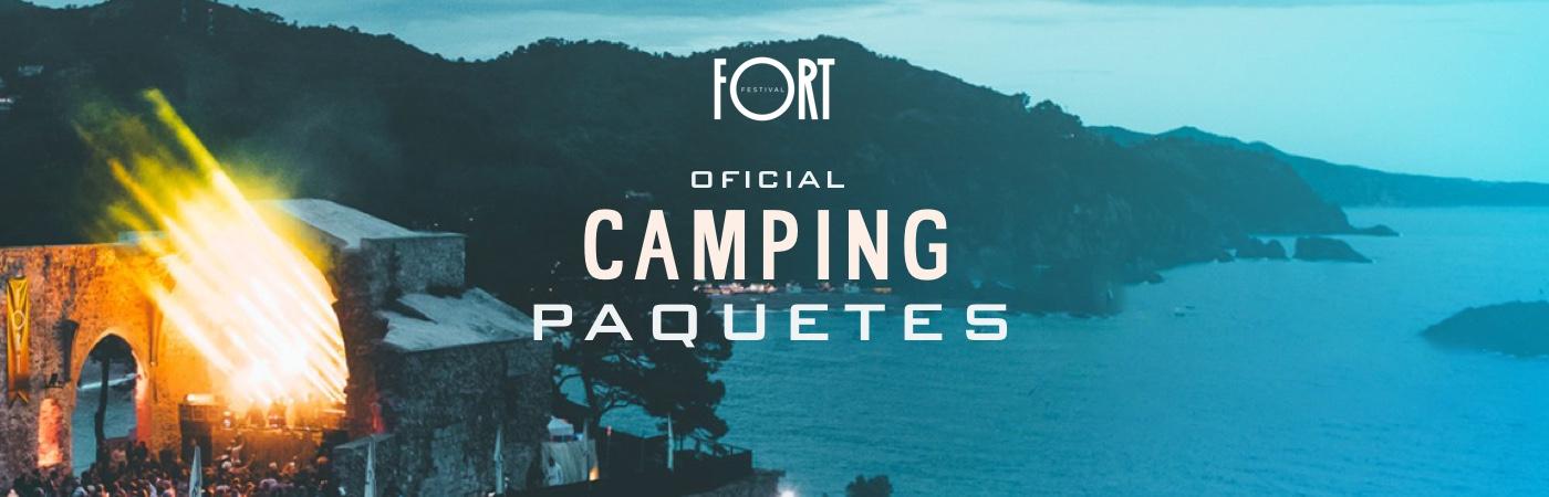 Packs Entrada + Camping Fort Festival