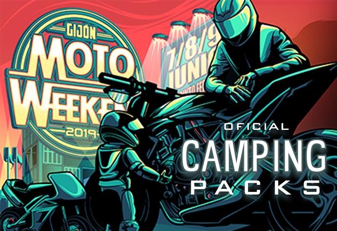 Gijón MotoWeekend Ticket + Camping Packages