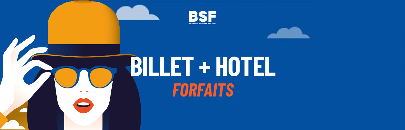 Brussels Summer Festival Ticket + Hotel Packages