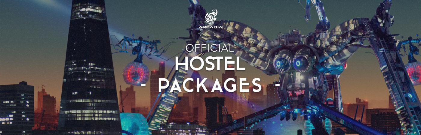 Arcadia London Hostel Packages