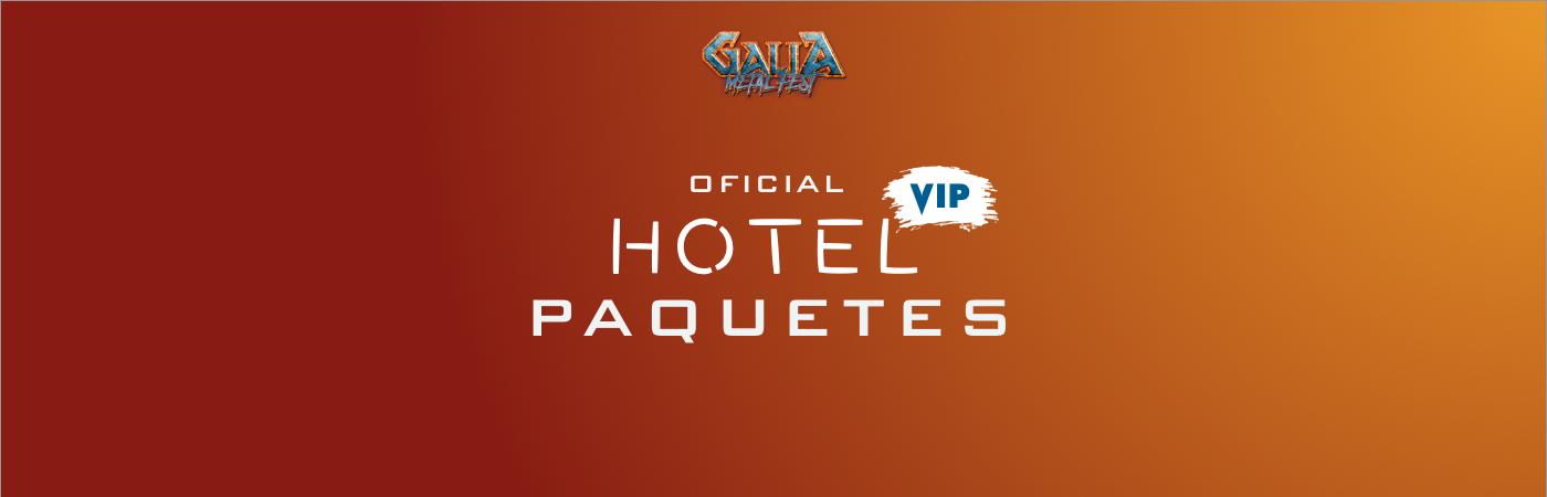 Galia Metal Fest VIP Hotel Packages