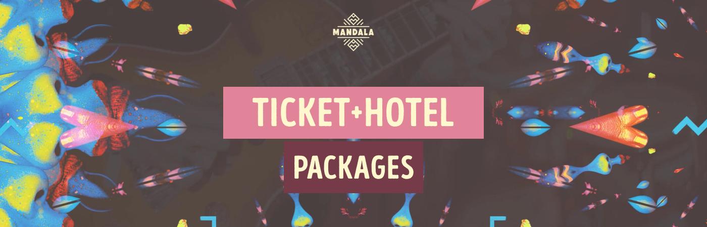 Mandala Festival Ticket + Hotel Packages