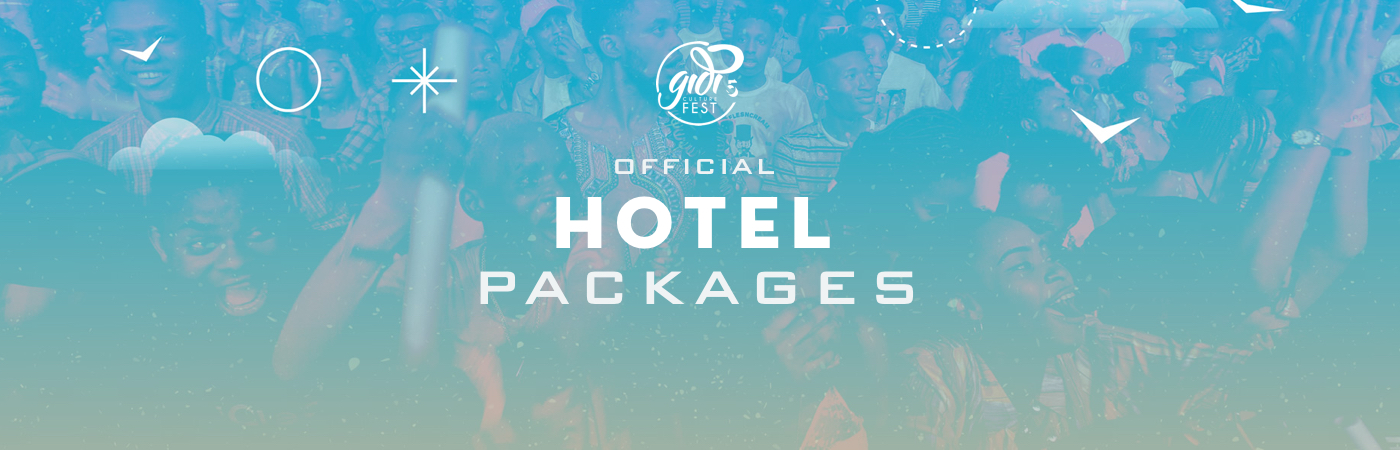 Gidi Fest Ticket + Hotel Packages
