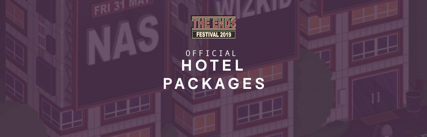 The Ends Festival Ticket + Hotel Packages