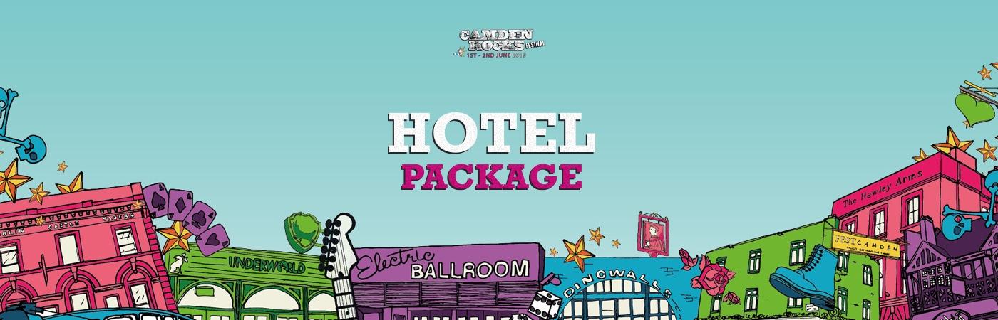 Camden Rocks Ticket + Hotel Packages