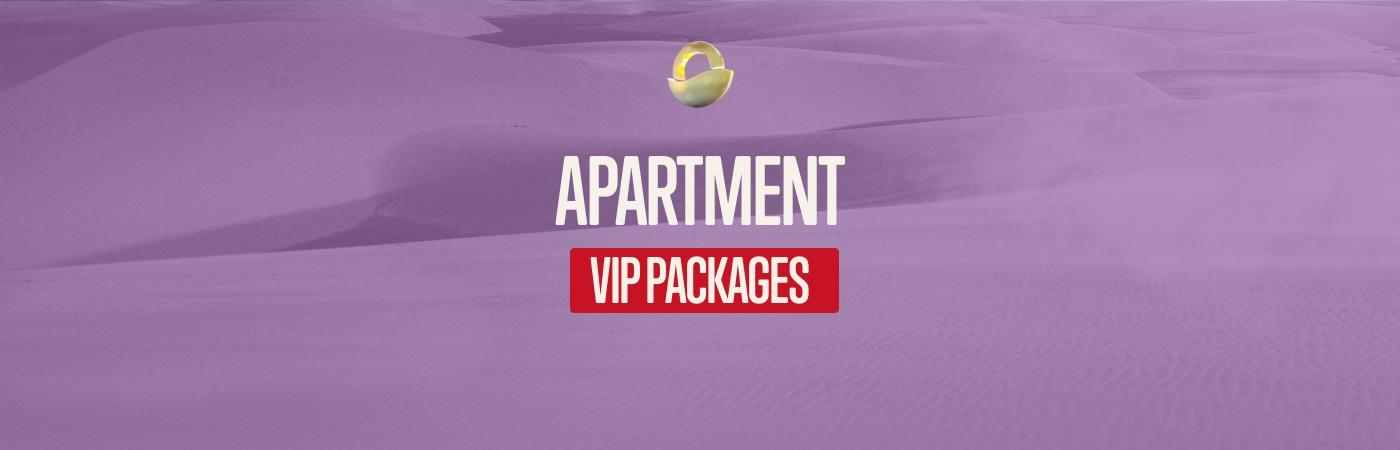 Packages Billet VIP + Appartement - Decibel Open Air