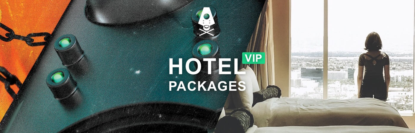 VIP Ticket + Hotel Packages